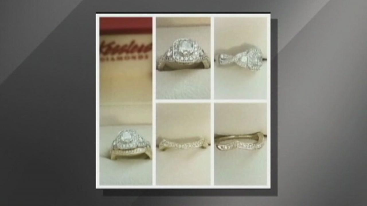 Woman scammed for wedding ring to help husband