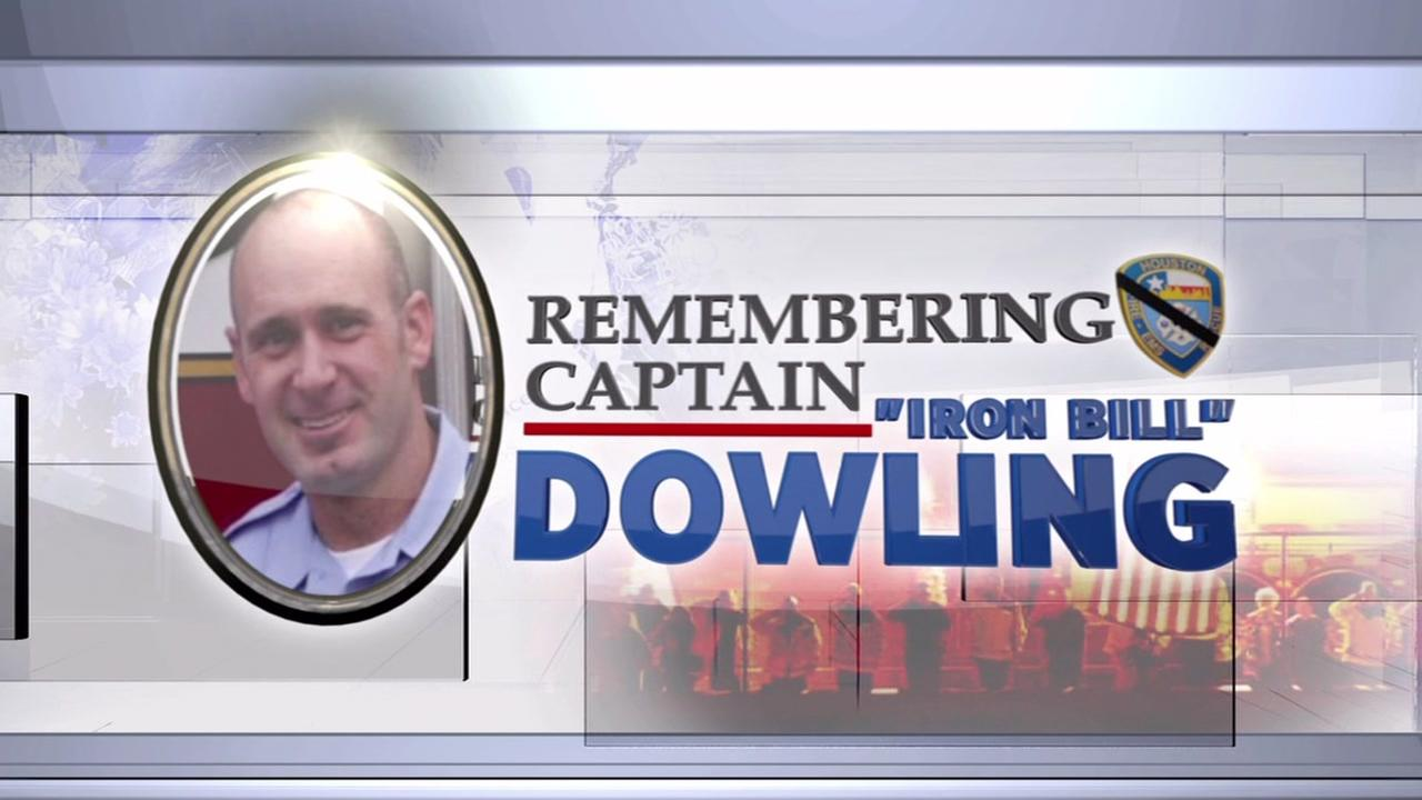 Public Memorial will be held for fallen firefighter Captain Iron Bill Dowling