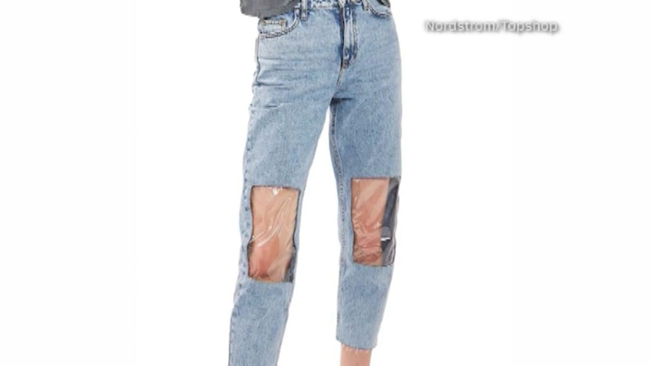 New Nordstrom mom jeans offer knee windows