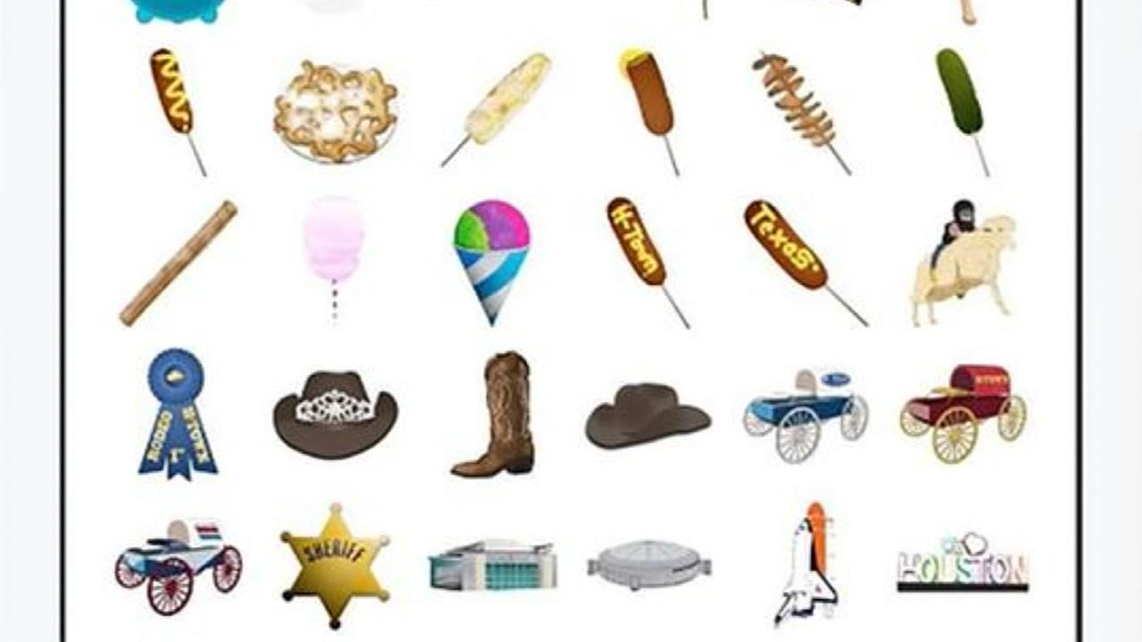 Add some local flair to your texts with iMessage Houston stickers
