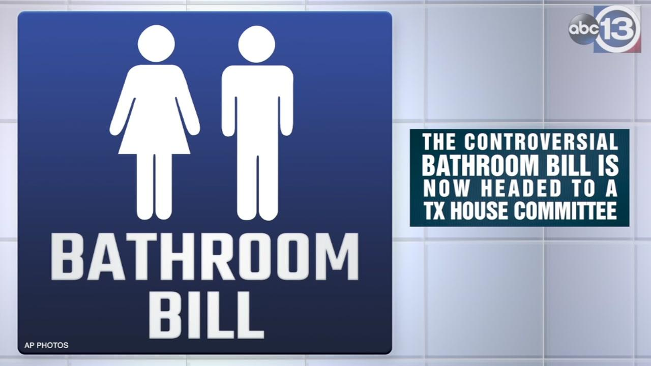 Bathroom Bill is headed to a Texas committee