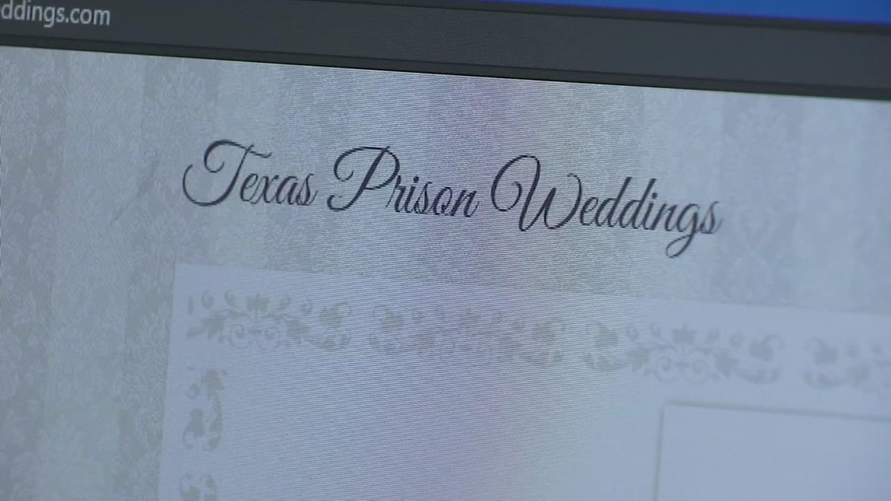 Local woman helping inmates tie the knot behind bars