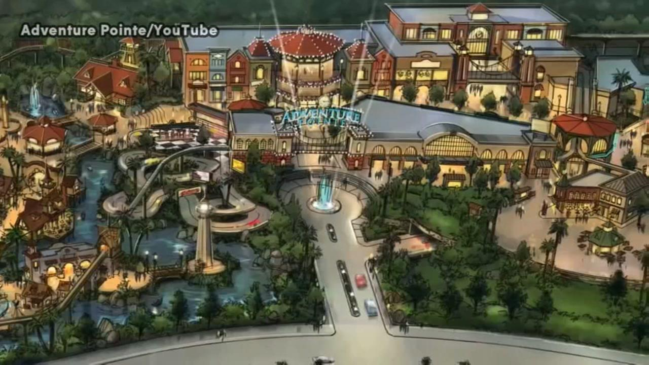 Construction permits issued for planned amusement park