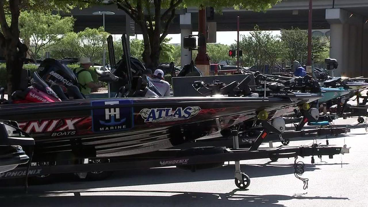 ABC13s Bob Slovak has a preview of the Bassmaster fishing tournament