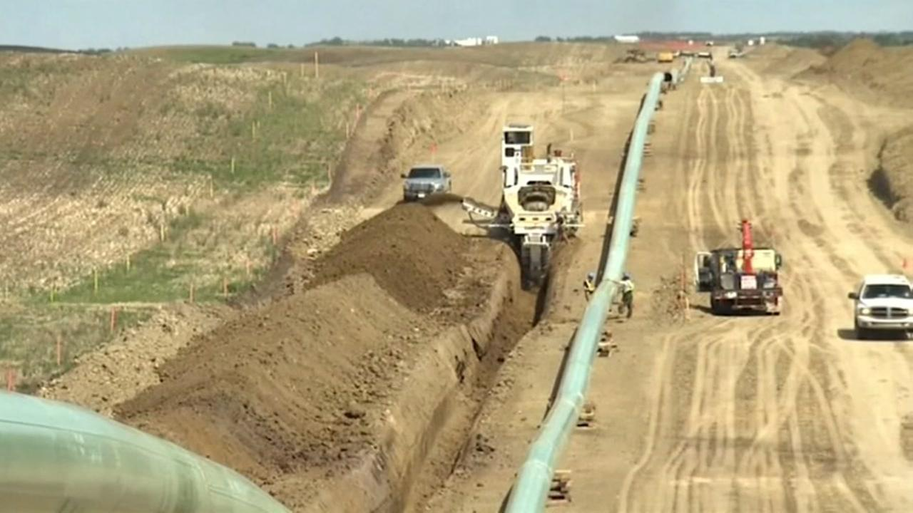 Trump administration approves Keystone XL pipeline