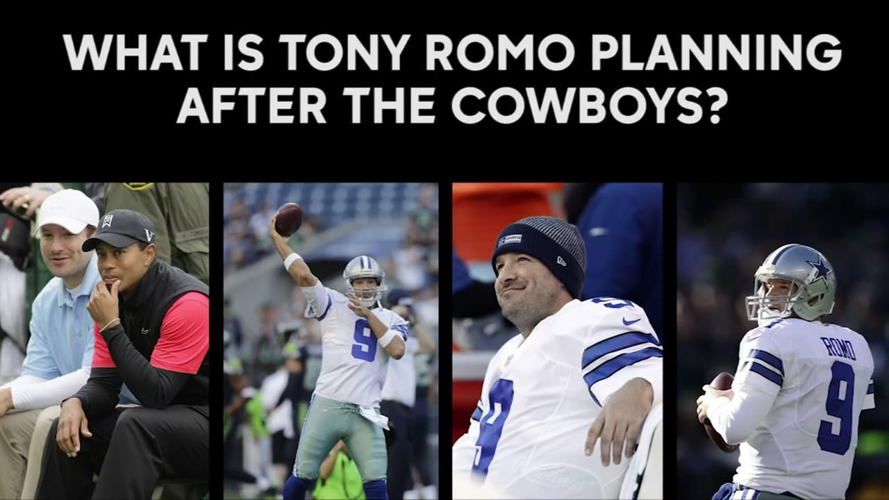 What is Tony Romos plan after the Cowboys?