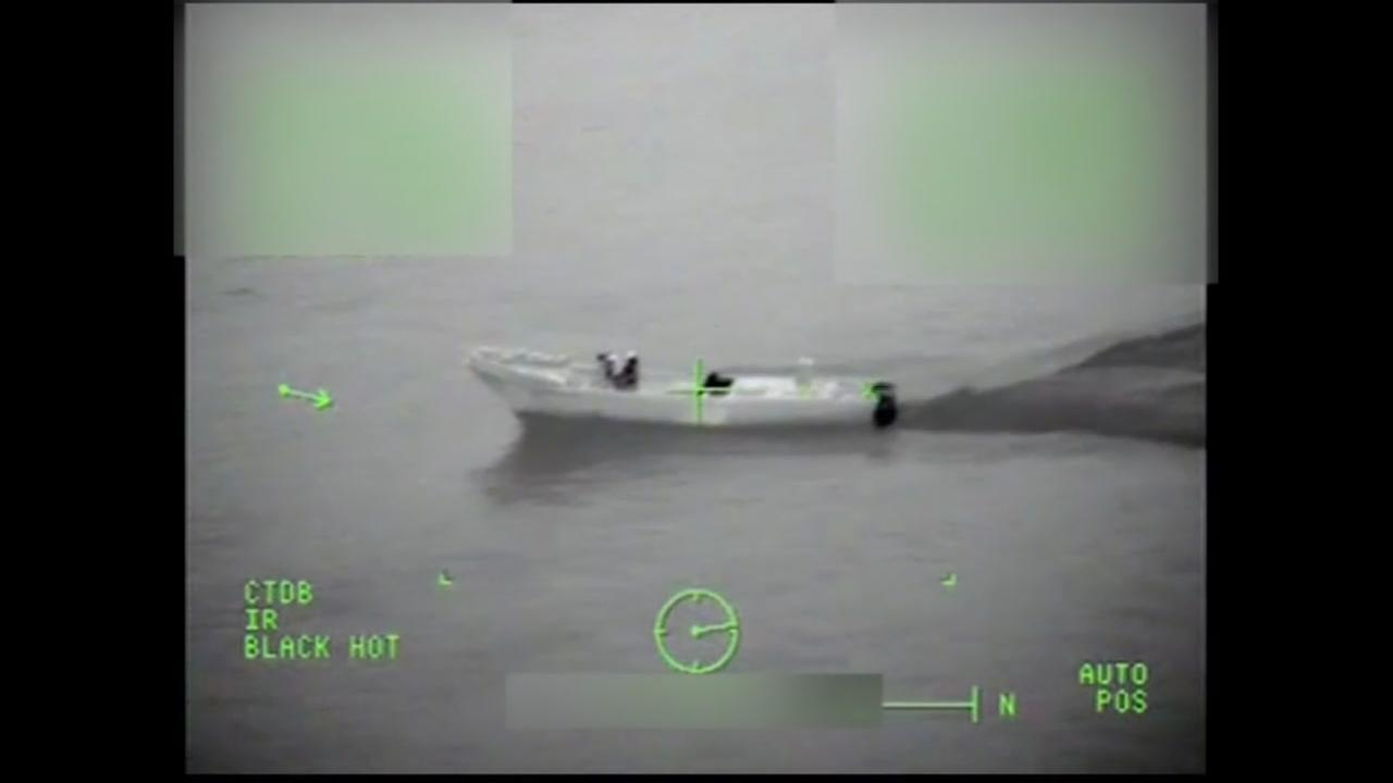 Coast Guard announces huge cocaine bust.