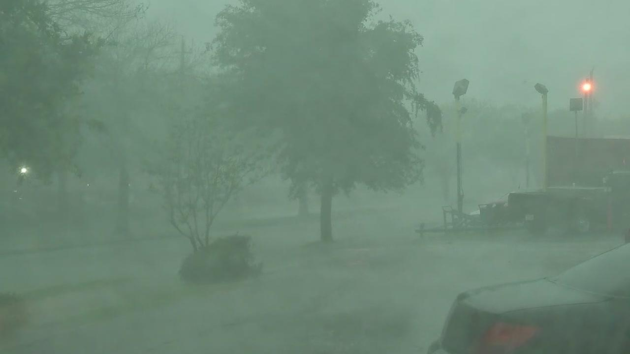 Rain pounds SW Houston