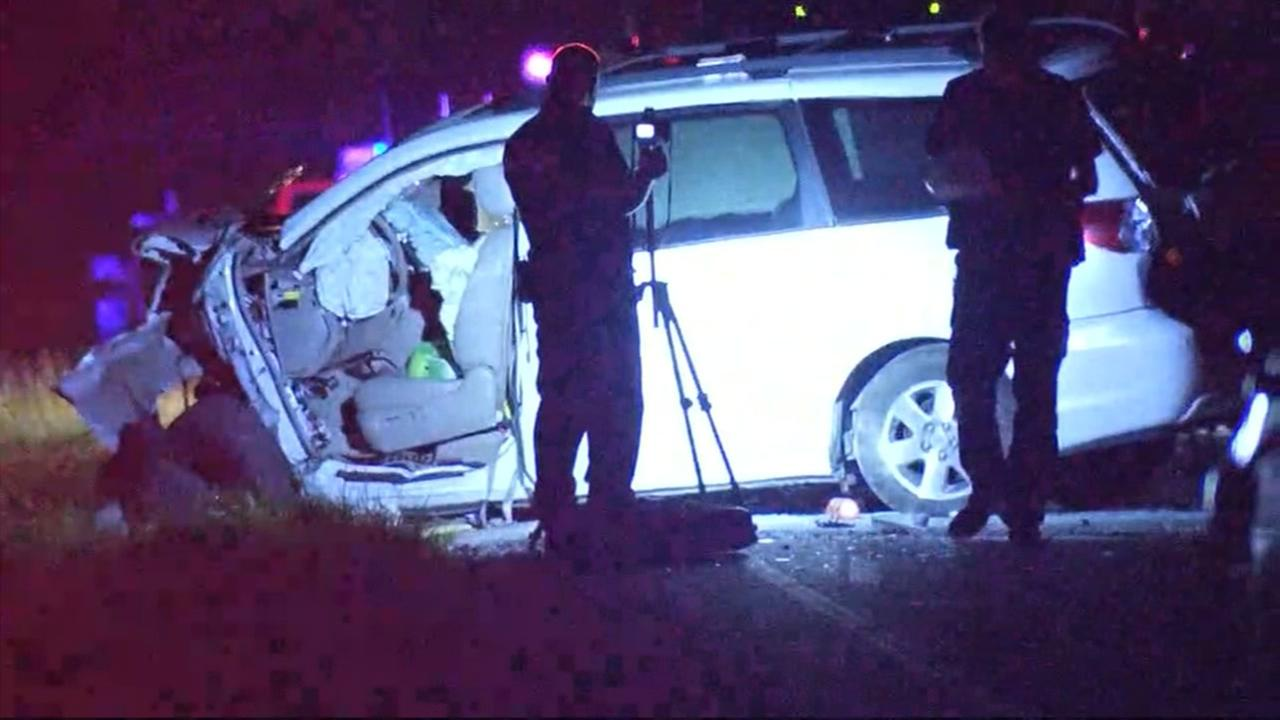 Elderly woman killed in violent crash on FM 2920