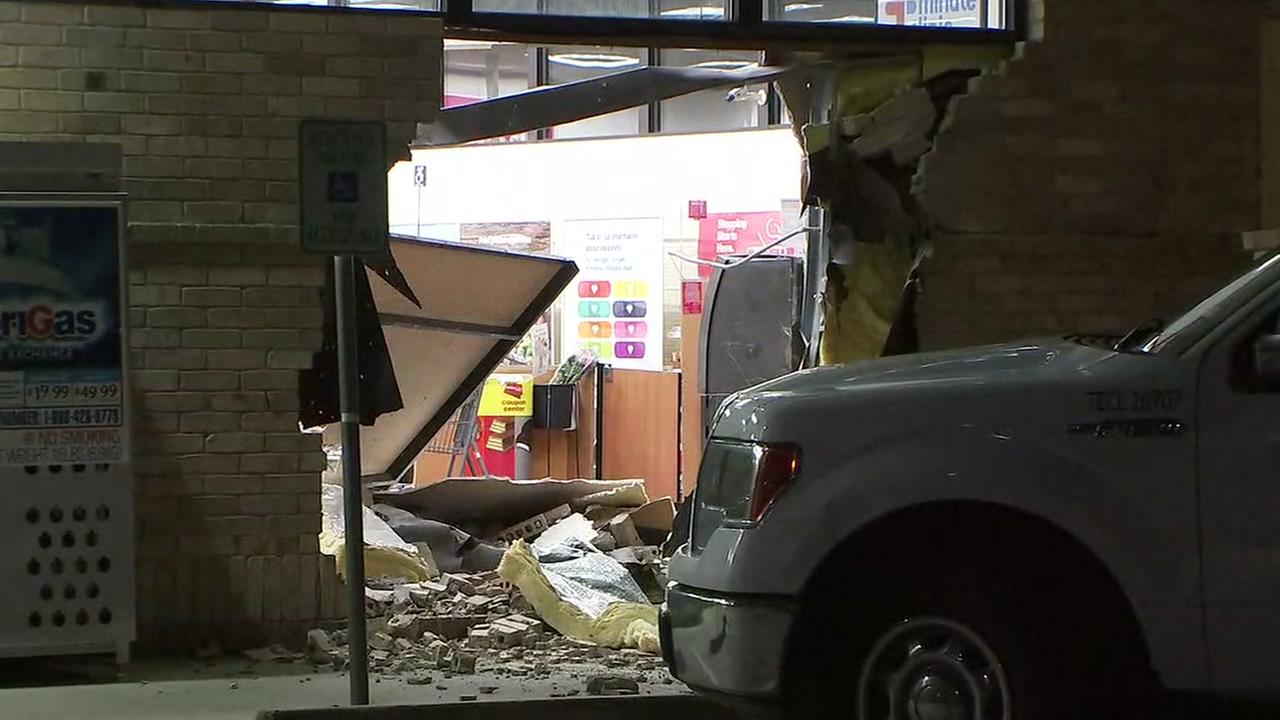 Smash and grab attempt in NE Harris County.