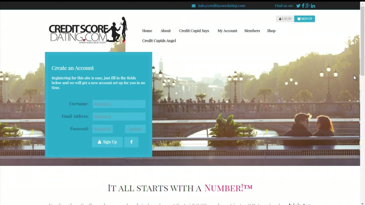 Online dating site matches users by credit score