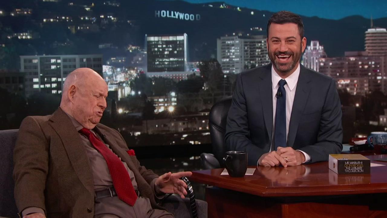 Jimmy Kimmel pays tribute to Don Rickles