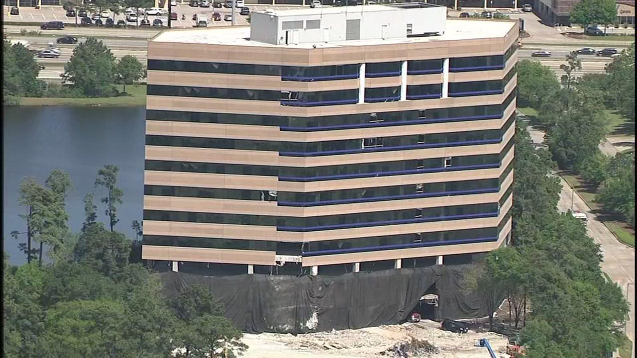 The Woodlands building slated for demolition on Sunday