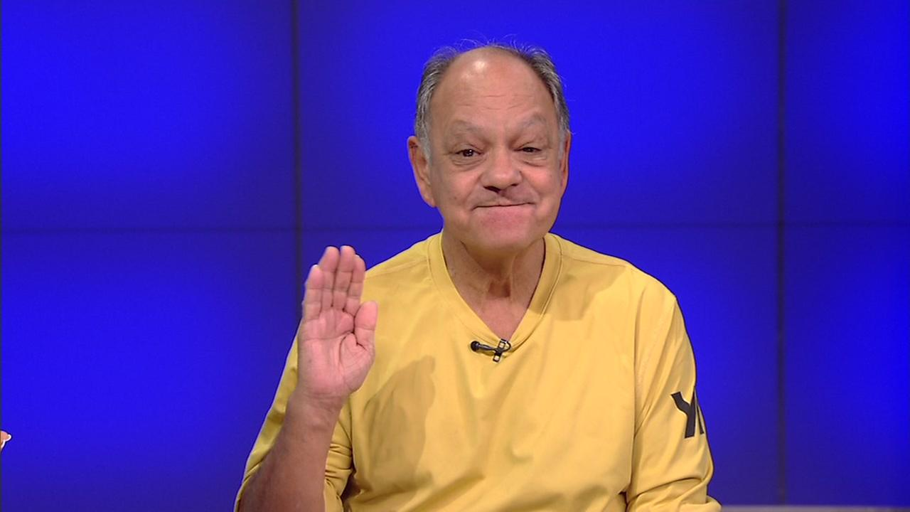 Cheech Marin talks Art Car Parade