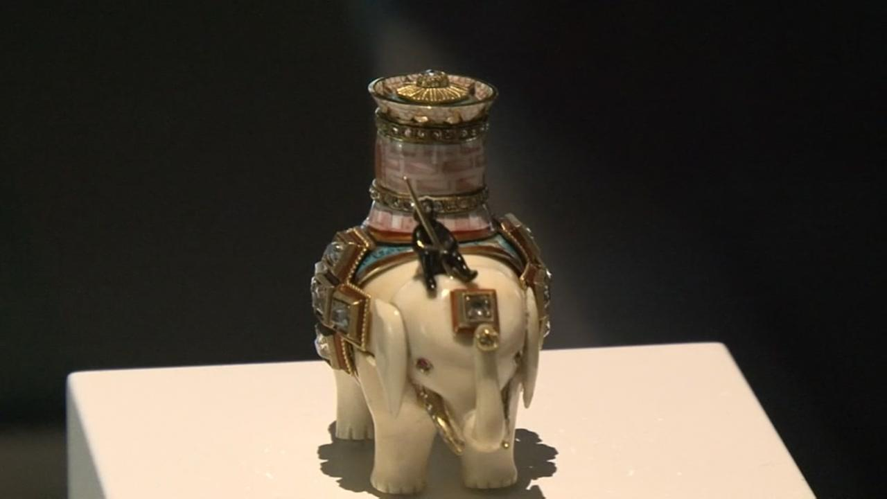 Faberge egg and missing surprise reunited.