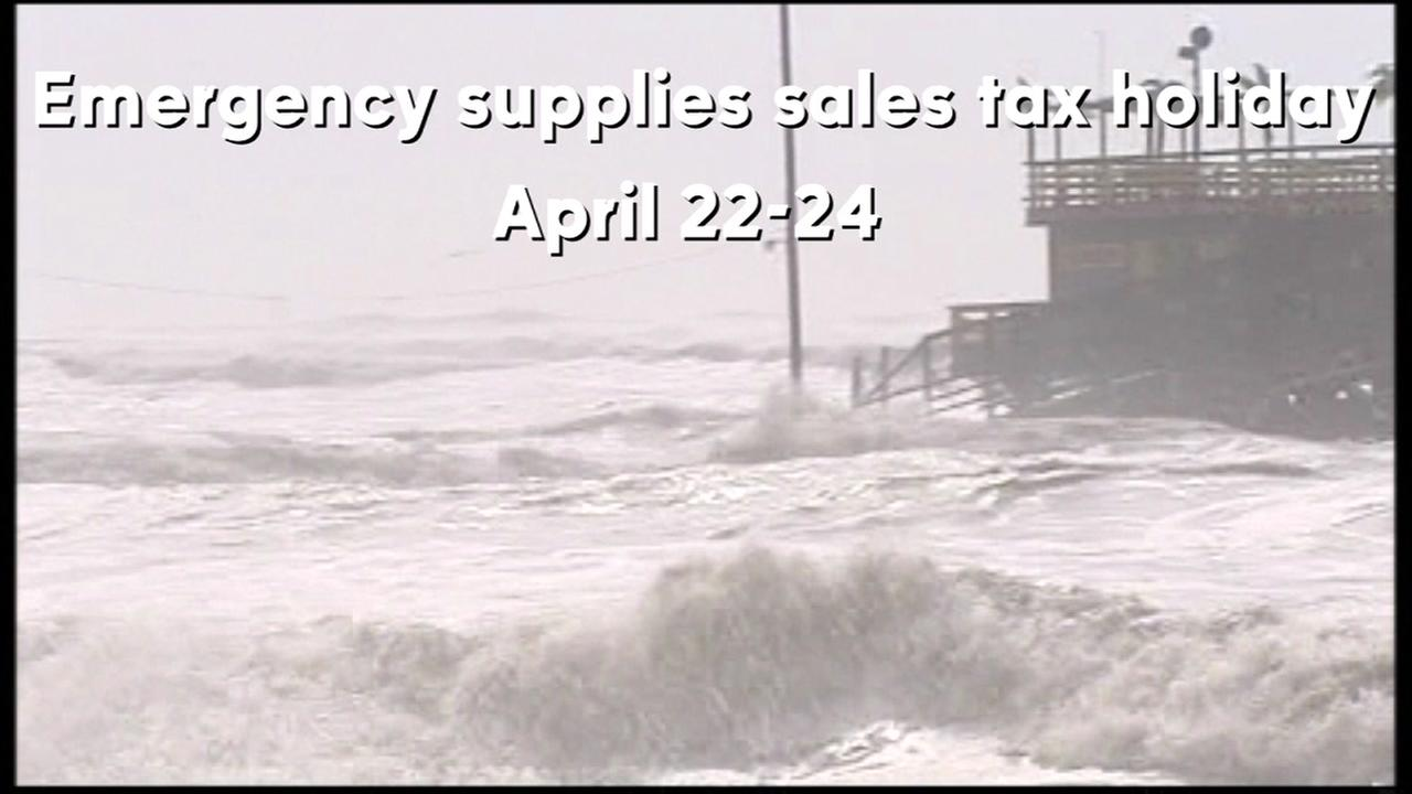 Emergency supplies sales tax holiday item