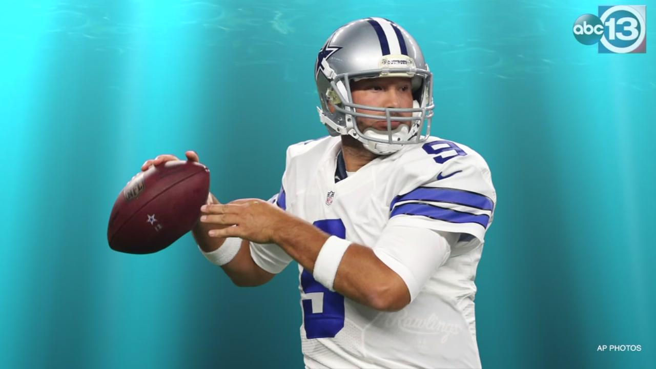 ABC13 has tips for former Cowboys quarterback Tony Romo