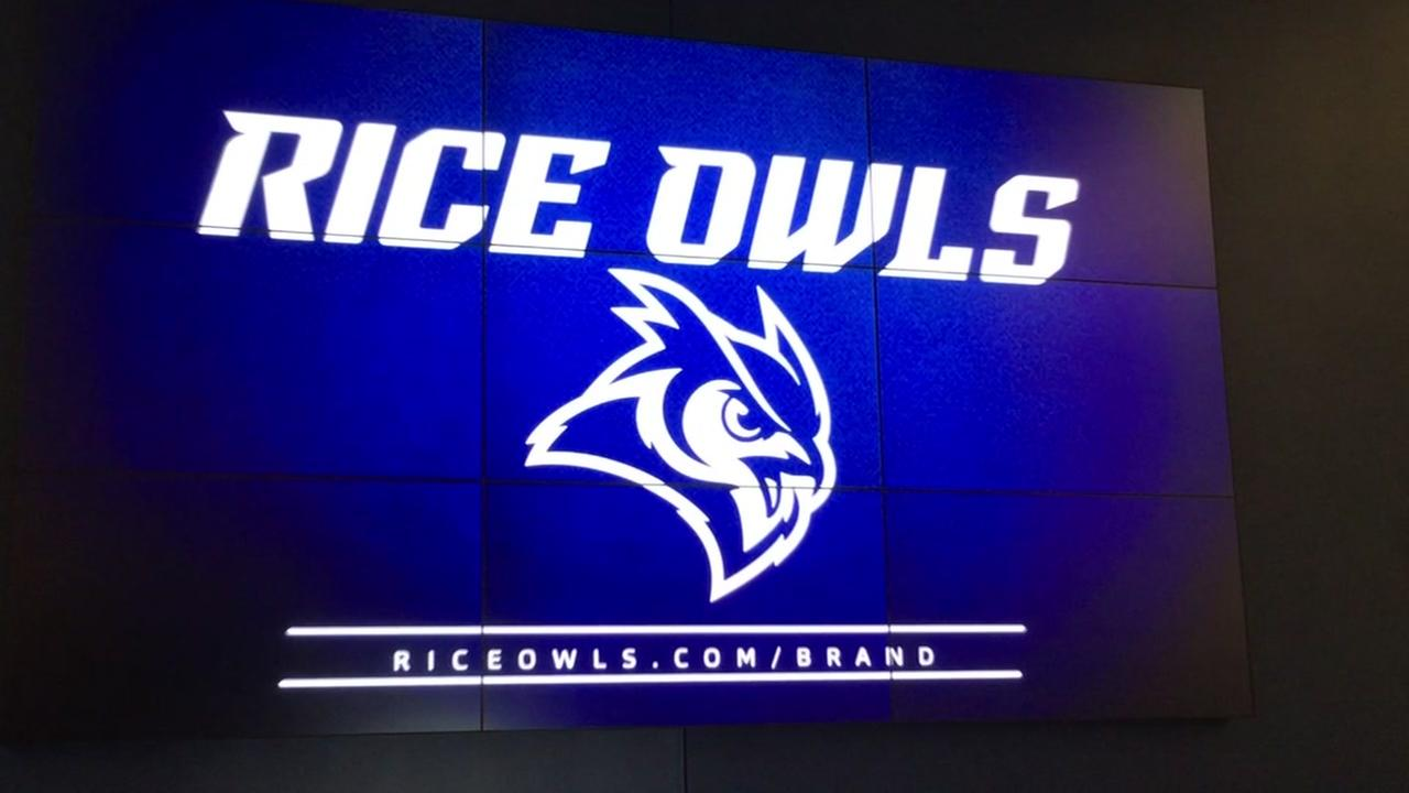 Rice University unveils new logo and apparel