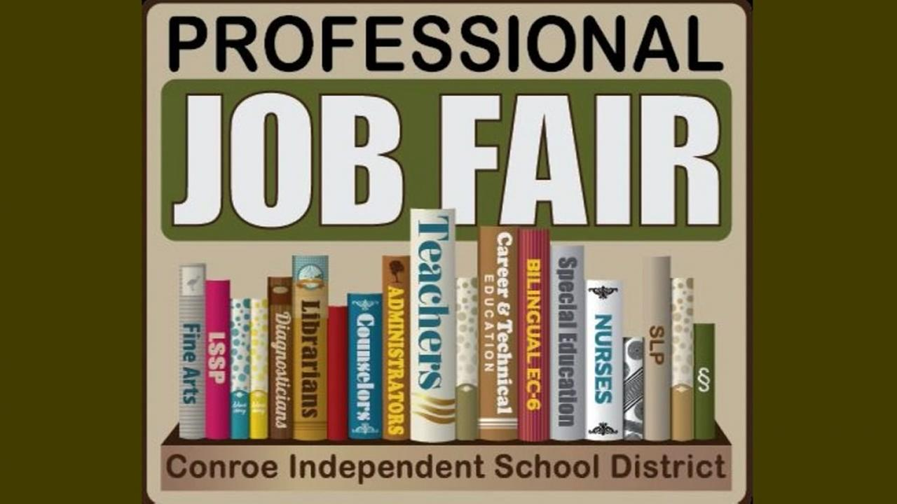 Conroe ISD hosting job fair to hire 500 people