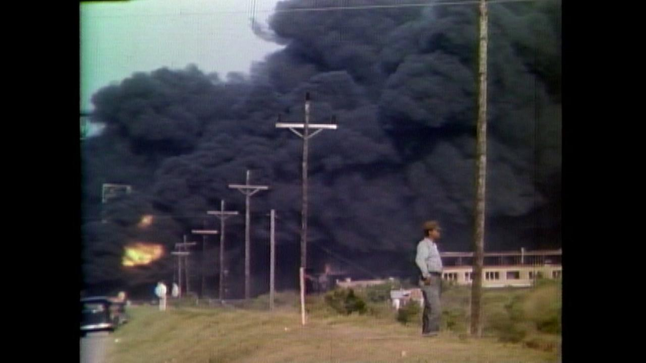 Film clips of the explosion in Texas City, in 1947