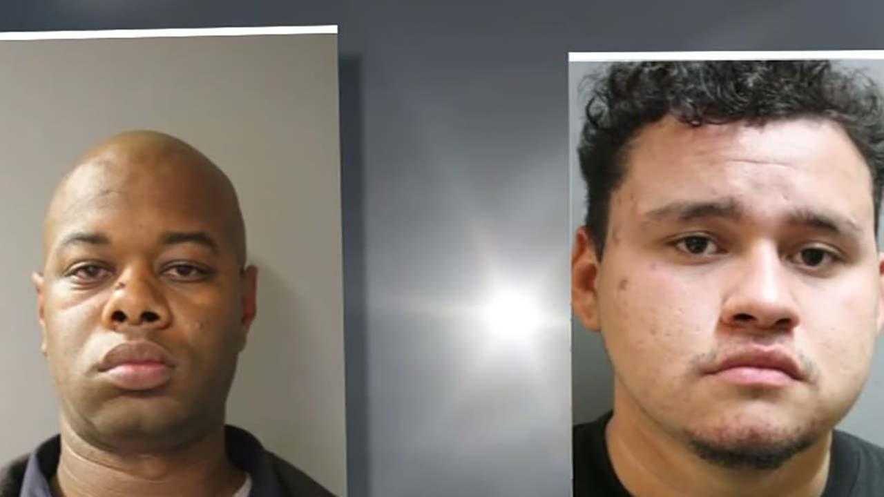 Two inmates left inside HCSO van