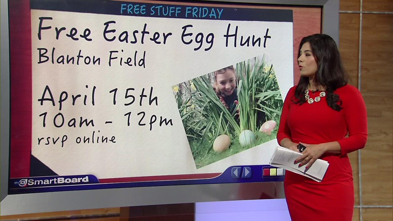 Free Stuff Friday: Egg hunts, entertainment and more!