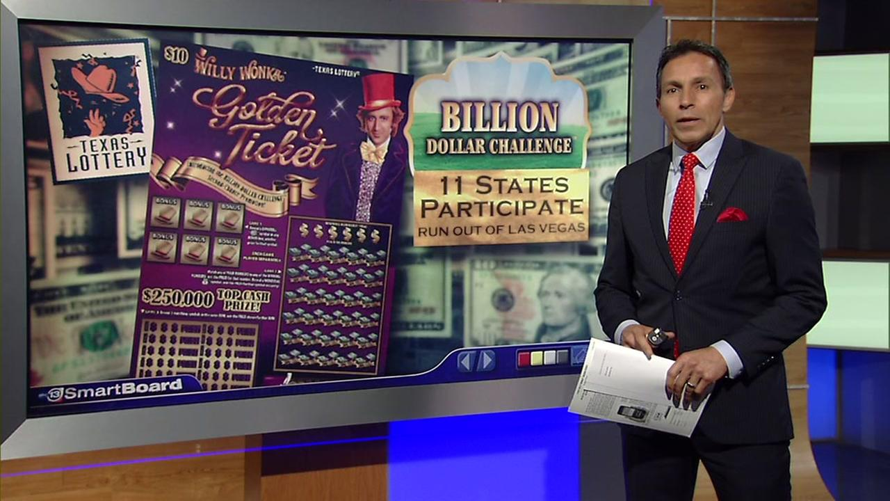 New Willy Wonka Golden Lottery ticket offers up to a billion dollar prize