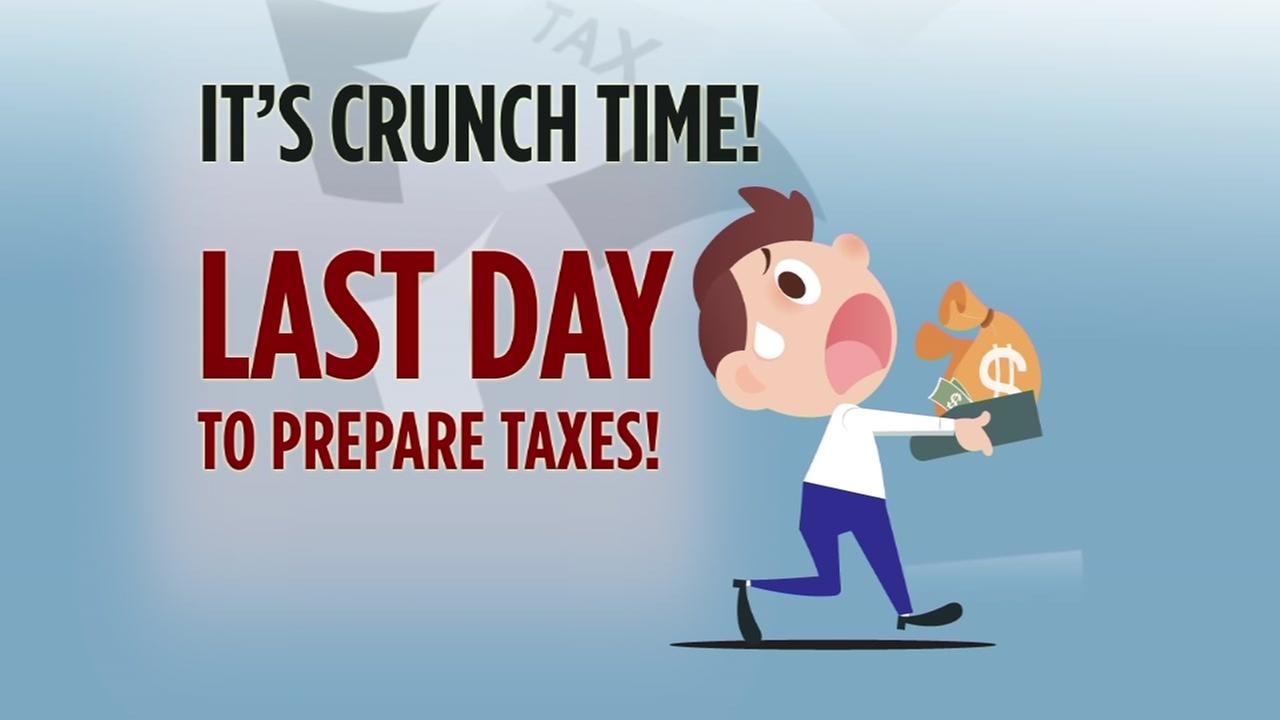 Its crunch time! Last day to prepare taxes