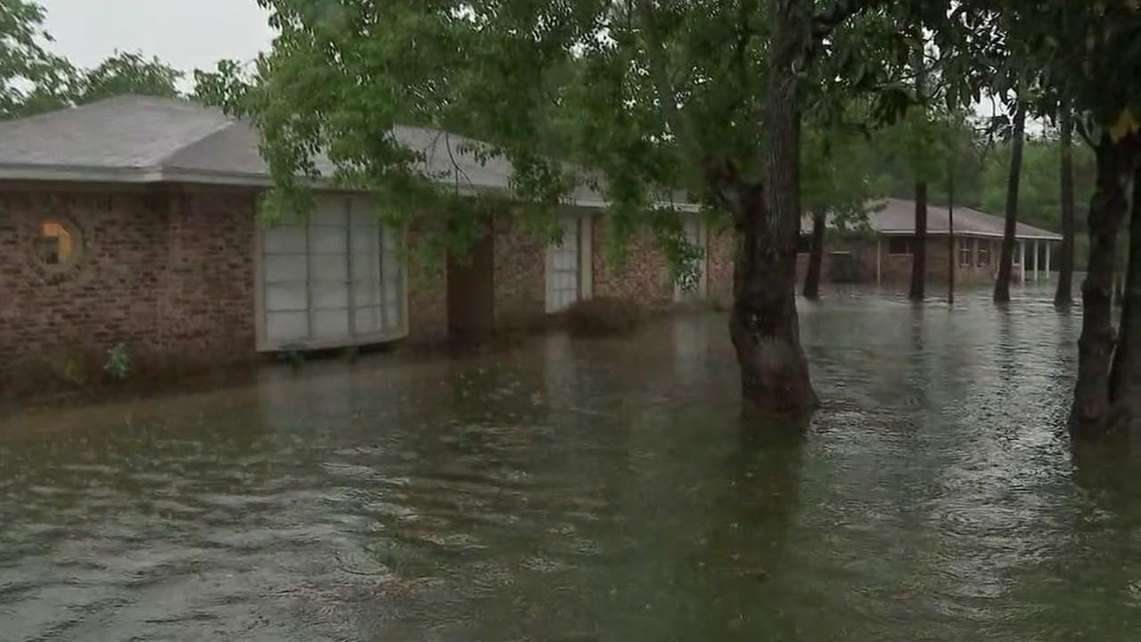 Dozens of homes flooded this morning in Santa Fe