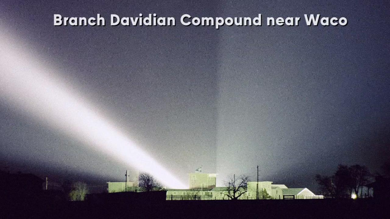 76 people died in when the Branch Davidian compound near Waco burned to the ground