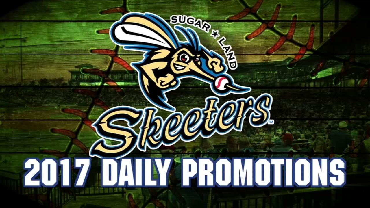 Hot deals at the Sugar Land Skeeters