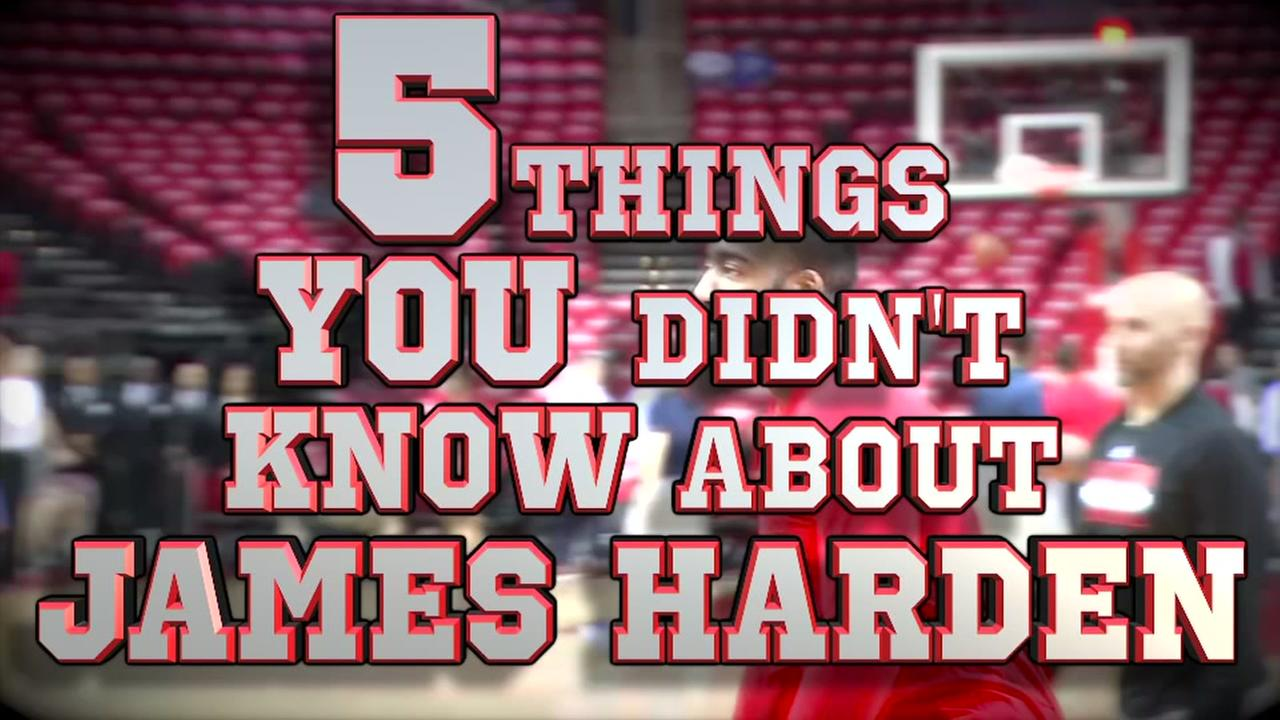 5 things you didnt know about James Harden