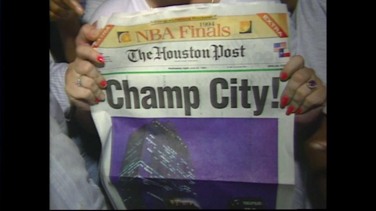 KTRK coverage of the Rockets 1994 NBA Championship