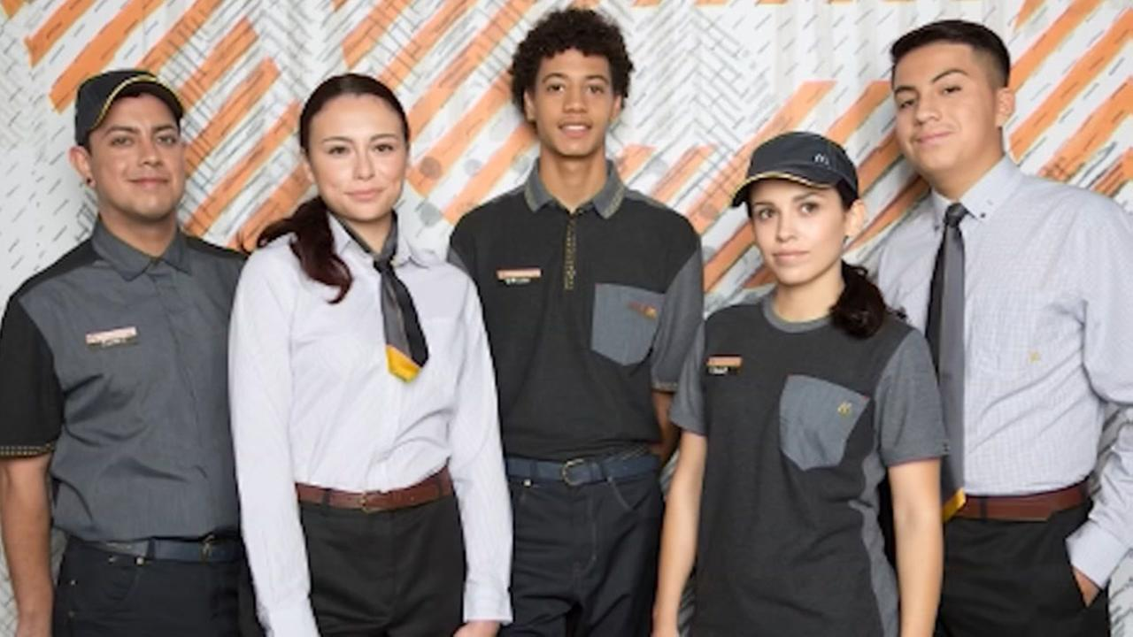 Social media users not lovin McDonalds new uniforms.