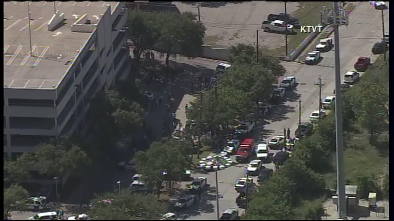 Two dead in Dallas office building shooting