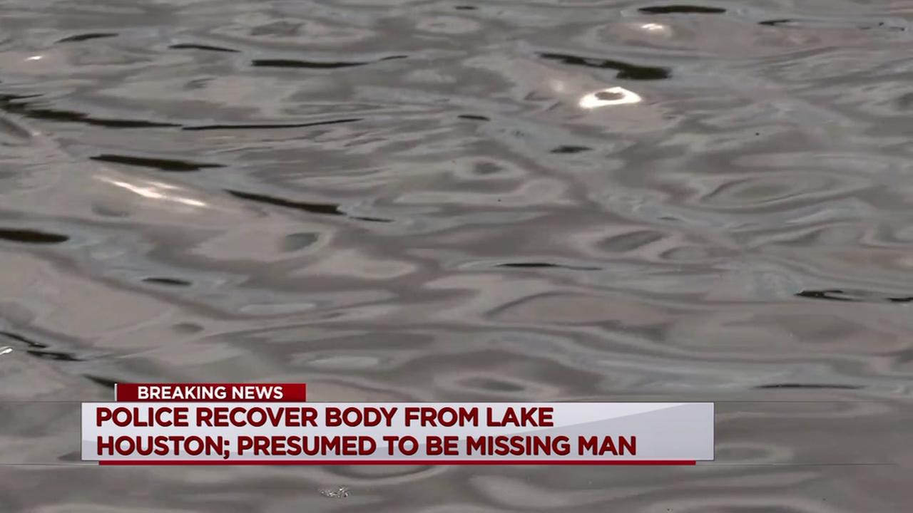 Police recover body from Lake Houston, presumed to be missing man