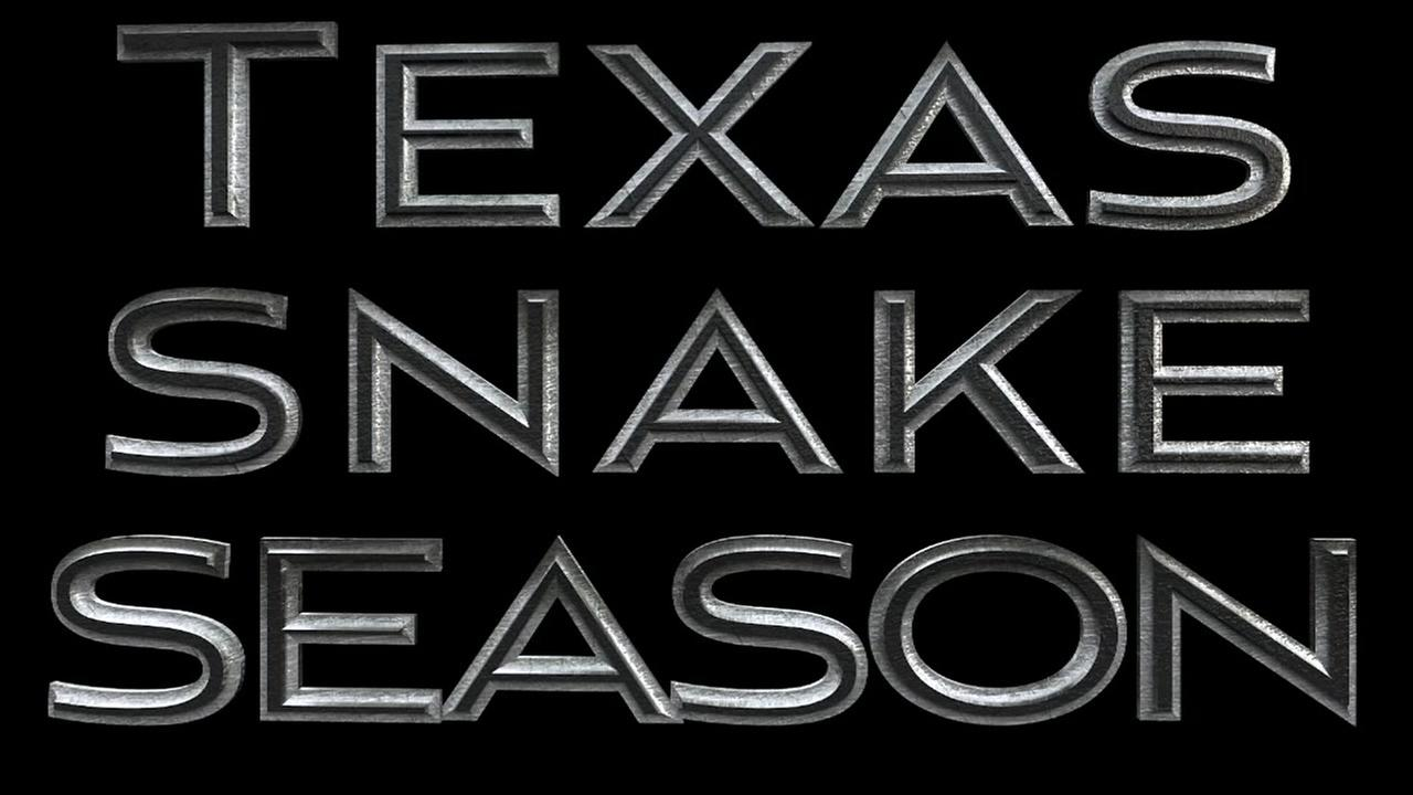 Texas snake season