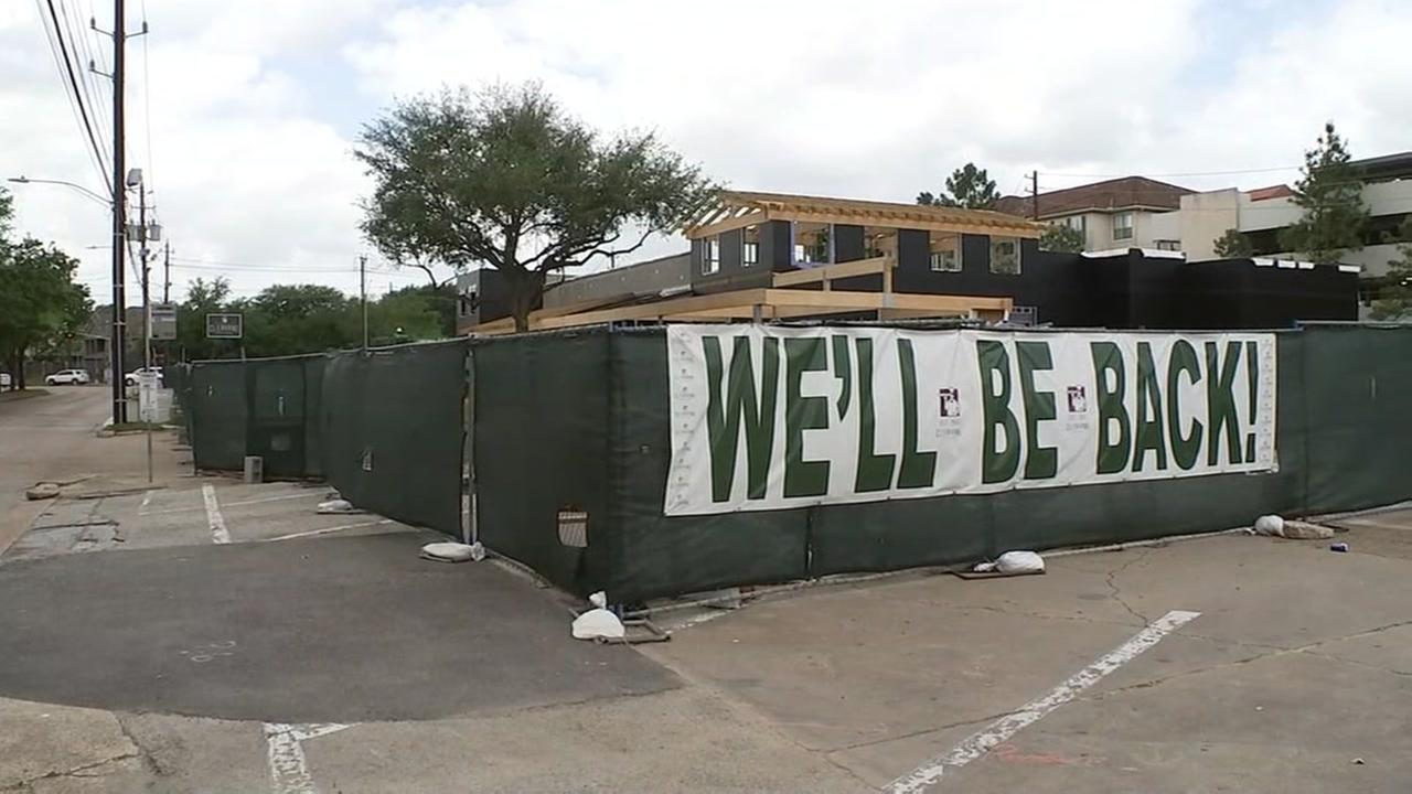 Cleburne Cafeteria, destroyed by a fire a year ago, is close to reopening