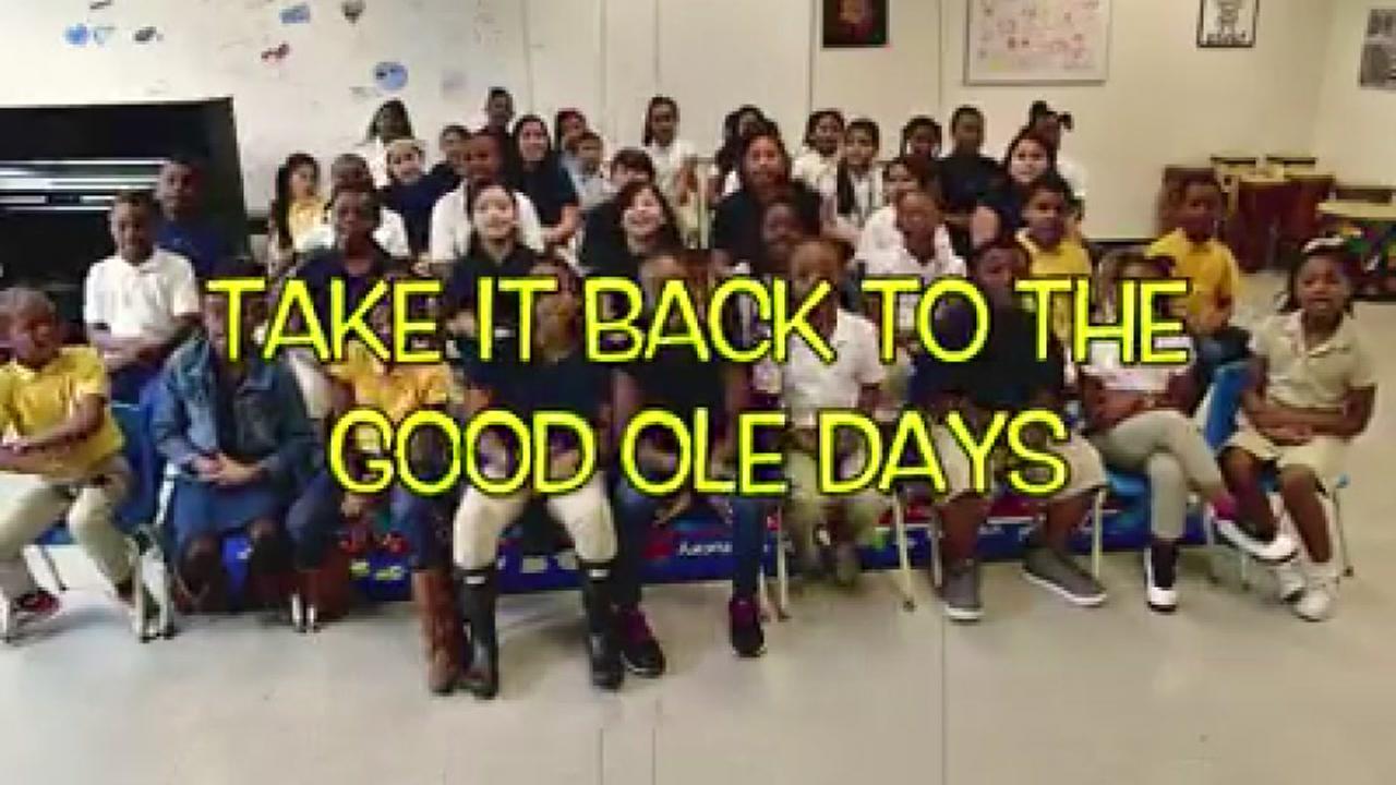 HISD Students take it back