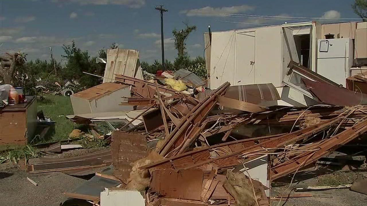 Four dead after storms near Canton area