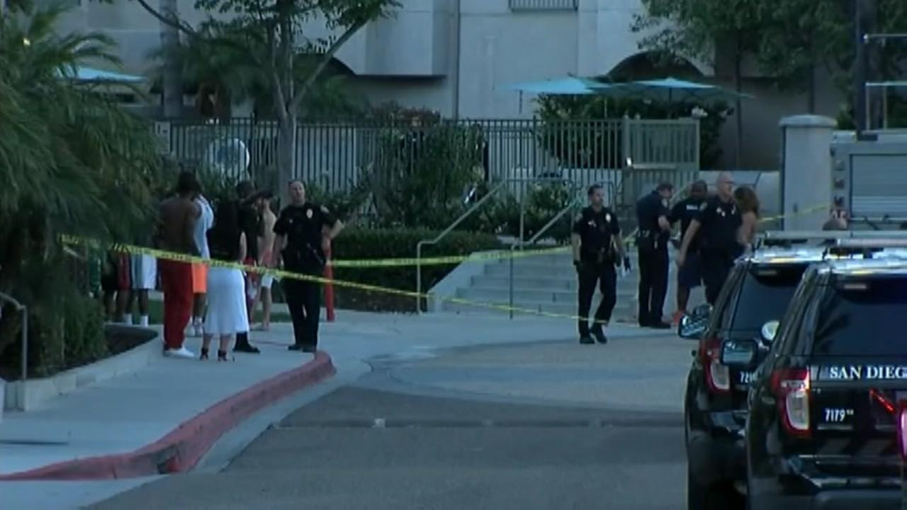 1 dead, 7 wounded in San Diego pool shooting