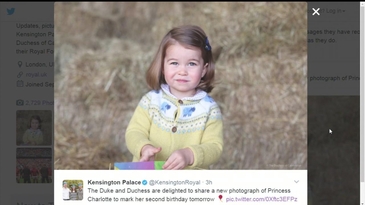 Princess Charlotte turning 2.