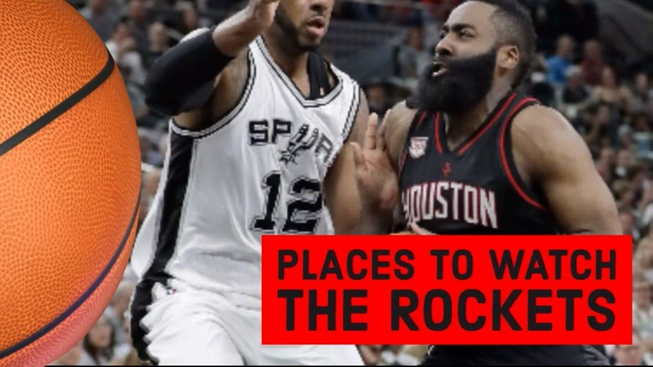 Places to watch the Rockets game