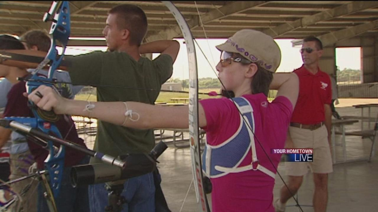 Young archer hopes to make it to Olympic Games