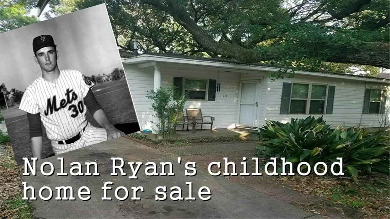 Childhood home of baseball legend Nolan Ryan, is for sale in Alvin