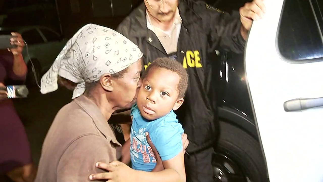 Missing boy reunited safely with grandmother in southeast Houston
