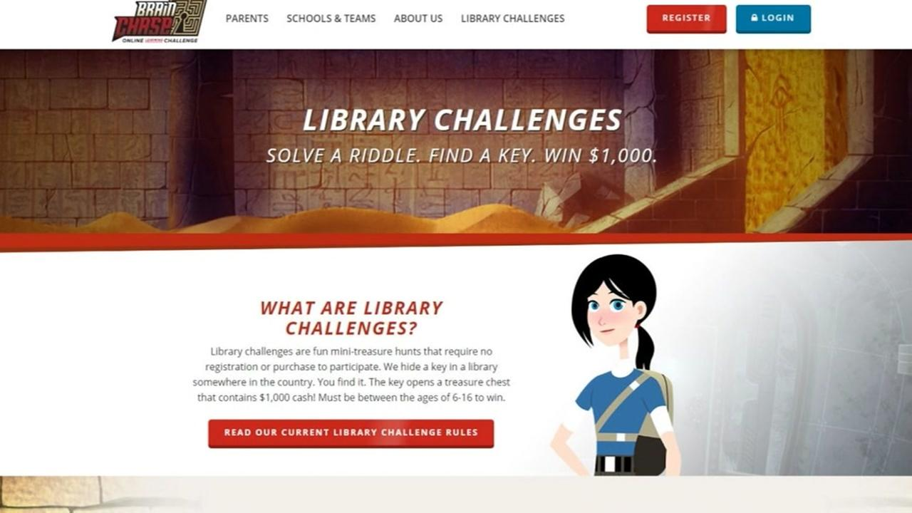 Brain Chase launches Houston Library Challenge