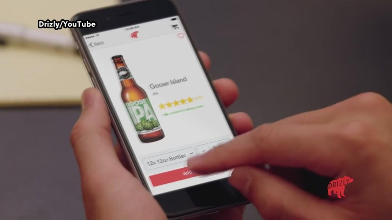 Bottoms up! Booze delivery service launches in Houston