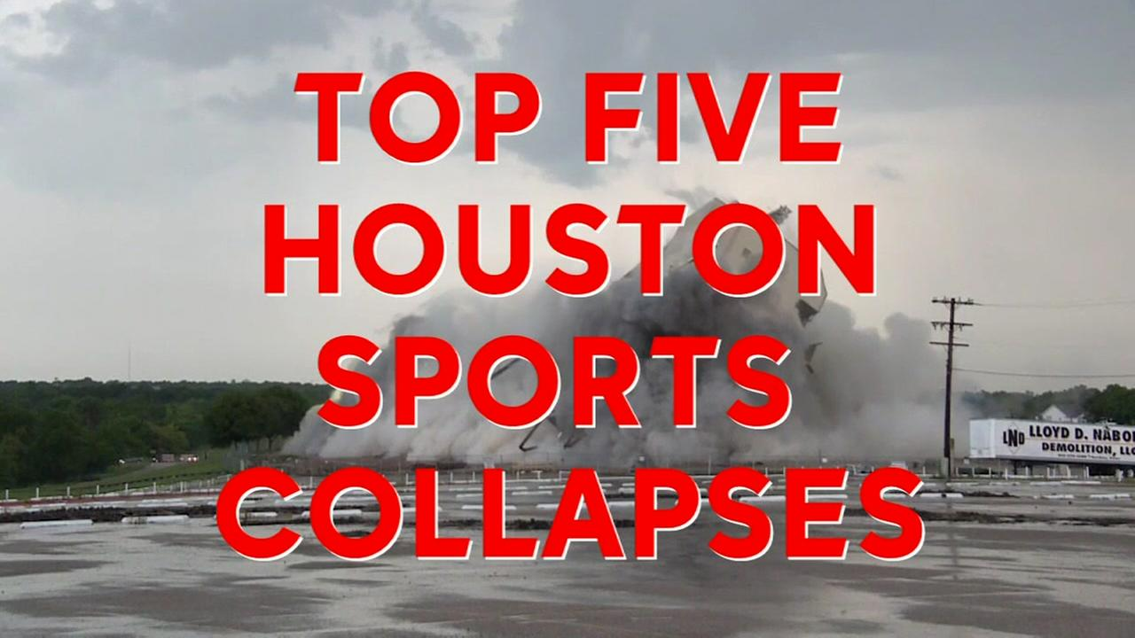 Top five Houston sports collapses of all time