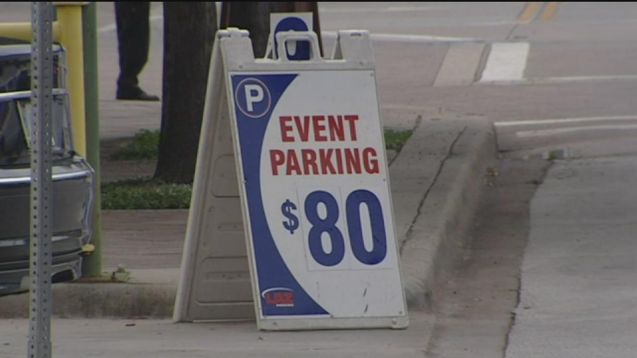 How much to park at Beyonce and Jay Z concert?